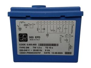 Řídící automatika SIT 503 EFD, type DM, Tw 1.5 s, Ts10s, kód: 503602