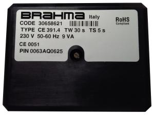 Řídící automatika Brahma CE 391.4 Tw 30 s, Ts 5 s, kód: 30658621